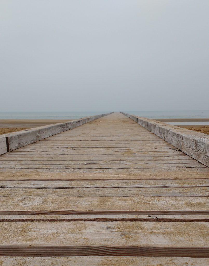 C17 - Il pontile sul mare che si vede anche il cielo (infinito) - Giancarlo Marchi